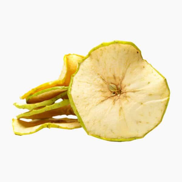 Tørret æble-skiver
